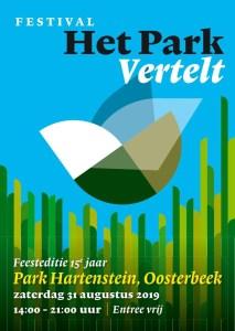 Poëziefestival 'Het Park Vertelt' - feesteditie!